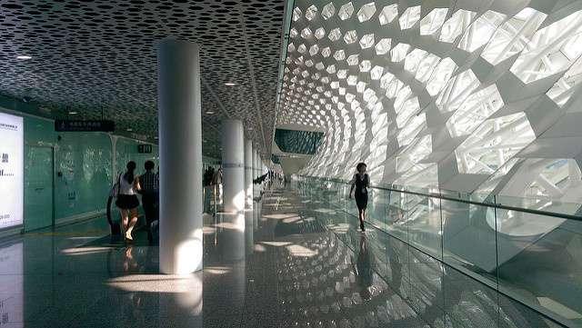 Шеньчжньский міжнародний аеропорт Баоань, Китай